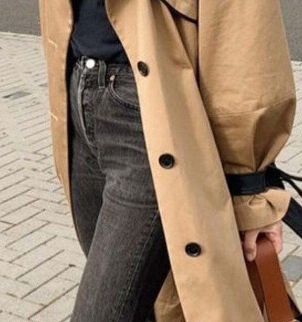 Le trench coat féminin